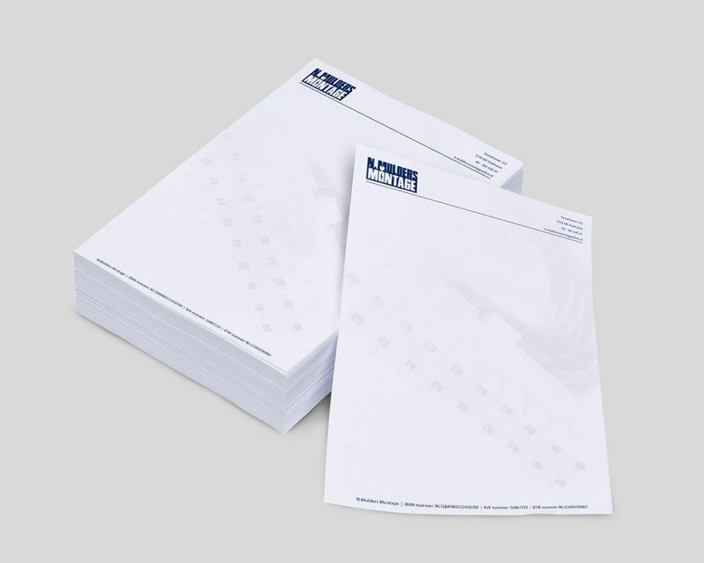N.Mulders Montage briefpapier