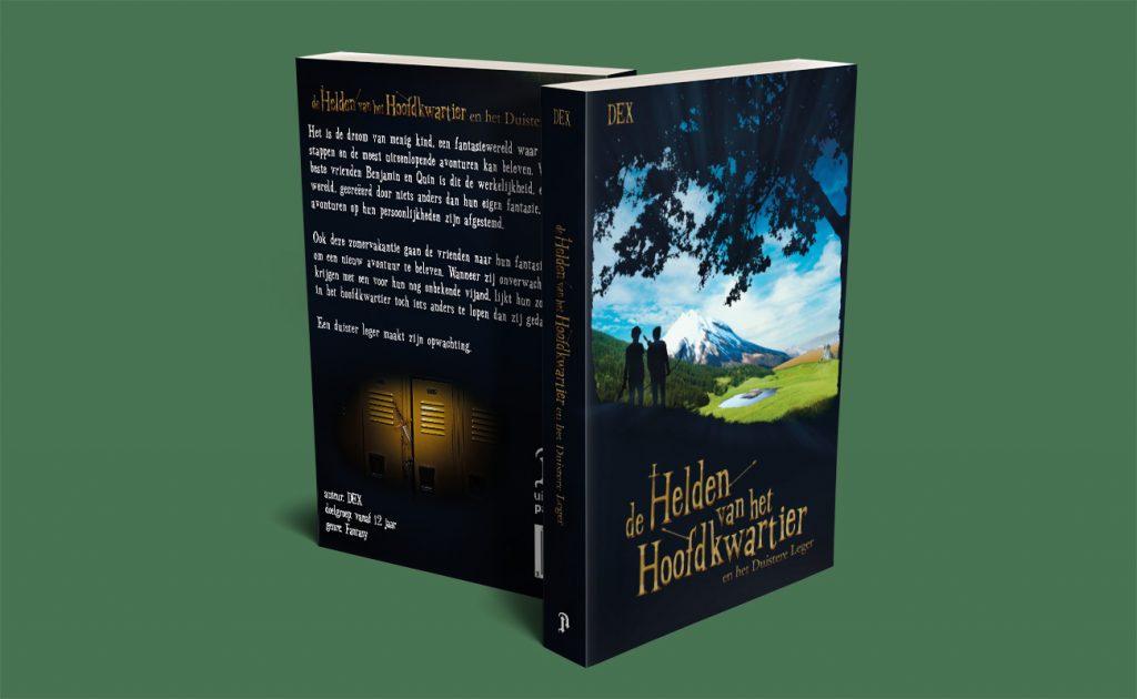 het boek de Helden van het Hoofdkwartier en het Duistere Leger