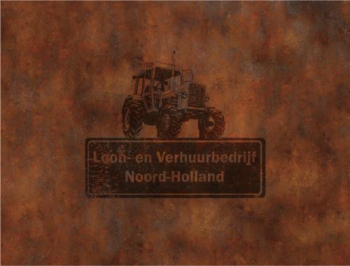 Loon- en Verhuurbedrijf Noord-Holland logo